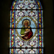 Stock Photo: Stain glass window