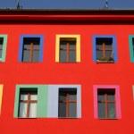Row of windows — Stock Photo #8047305