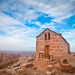 Chapel on mount sinai — Stock Photo