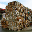 Paper bales - Stock Photo