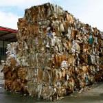 papírové balíky — Stock fotografie