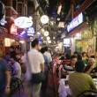 Istanbul, Turkey - 25 july 2007. Restaurant and bar night life in taksim — Stock Photo #8047651