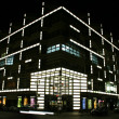 Stock Photo: Street building lit up, berlin, germany