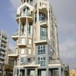 Gaudi style building in tel aviv — Stock Photo #8047907