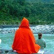 Stock Photo: Swami back