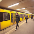 Stock Photo: Berlin metro