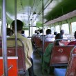 On bus in south india — Stock Photo