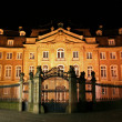Old mansion illuminated, munster, germany — Foto de stock #8048492