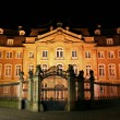 Old mansion illuminated, munster, germany — Foto Stock #8048492