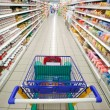 Stock Photo: Supermarket perspective
