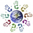 World unity — Stock Photo
