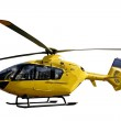 Rescue helicopter isolated — Stock Photo