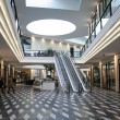 Shopping mall and escalators — Stock Photo #8049190