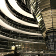 Landscapre view of interior of reichstag, berlin, germany — Stock Photo #8049245
