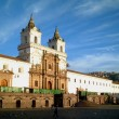Iglesia de San Francisco, quito, ecuador — Stock Photo