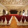 Luxurious conference hall in hotel — Stock Photo #8049277