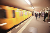 Berlin u-bahn — Stock Photo