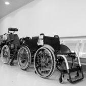 Wheel chairs — Stock Photo