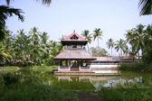 Temple complex in kochi, kerala, india — Stock Photo