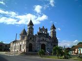 Delapidated church, granada, nicaragua — Stock Photo