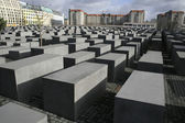 Jewish memorial, berlin, germany — Stock Photo