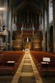 Albi cathedral interior — Stock fotografie