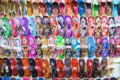 Display of sandals — Foto Stock