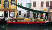 Fruit stall in Venice — Stock Photo