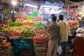 Fruit stall delhi — Stock Photo