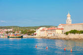 Seaview of krk — Stock Photo