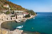 Pueblo de pescadores en croacia — Foto de Stock