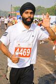 Young male marathon runner — Stock Photo
