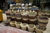 Poisson étoiles et herbes locales au marché local à dahab, région de la mer rouge, sinaï, — Photo