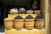 Herbs at a local market in dahab, red sea region, sinai, egypt — Stock Photo