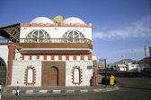 House on corner of elmshraba street in dahab, red sea, sinai, egypt — Stock Photo