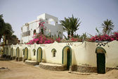 Beautiful budget hotel in dahab, sinai, egypt — Stock Photo