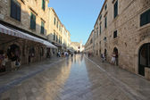 Stradun street in Dubrovnik — Stock Photo