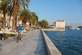Split waterfront — Stock Photo