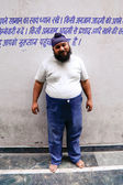 Engraçado sikh — Foto Stock