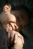 Jonge glimlach — Stockfoto