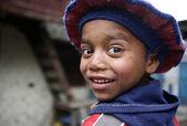 Nepal sevimlischattige nepalees jongen — Stockfoto