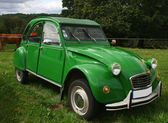 Green citroen 2 CV — Stock Photo