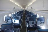 Interior del avión — Foto de Stock