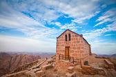 Chapel on mount sinai — Stock Photo