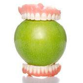 Apple bite — Stock Photo