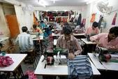 Indisk fabrik — Stockfoto