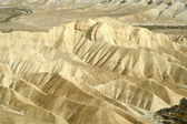 Sand dunes sede boker desert, israel — Stock Photo