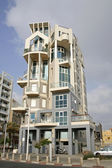 Gaudi style building in tel aviv — Stock Photo