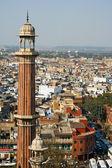 Minareto a delhi — Foto Stock