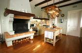 Traditional kitchen — Stock Photo